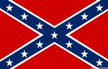 CONFEDERATE SOUTHERN CROSS - 5 X 3 FLAG